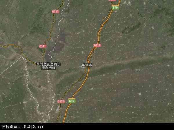 中国黑龙江省齐齐哈尔市讷河市黑龙江省老莱监狱地图