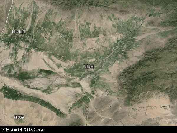 区塔城地区额敏县兵团农九师一六六团地图(卫星地图