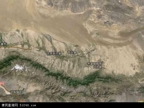 兵团农六师北塔山牧场卫星地图 - 兵团农六师北塔山牧场高清卫星地图