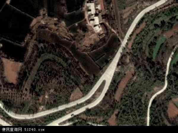 中国河南省郑州市新密市尖山风景区管理委员会地图(卫星地图)