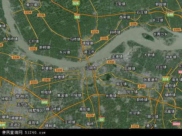 江苏江阴—靖江工业园区地图