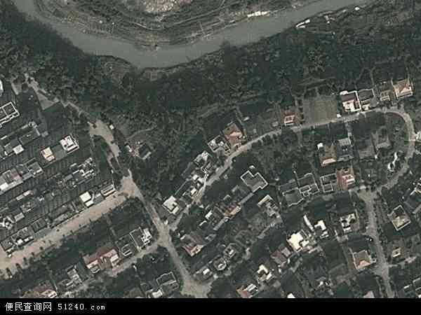 中国广西壮族自治区南宁市青秀区仙葫经济开发区管理委员会地图(卫星