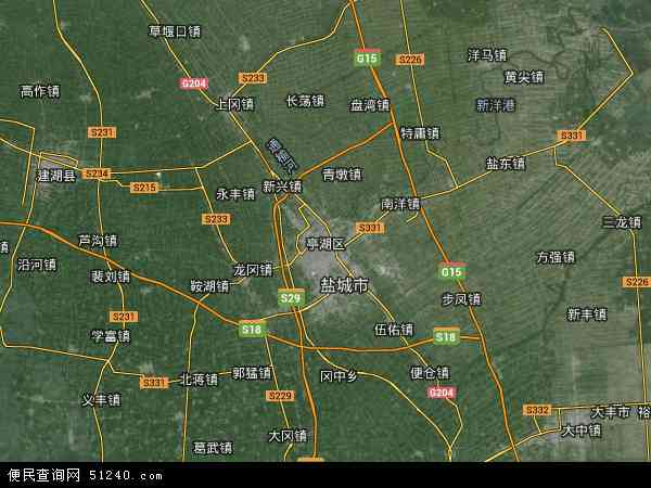 技术开发区)地图