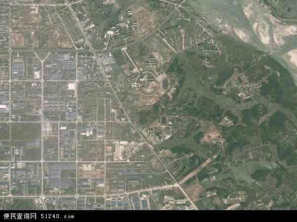 钟岭街道办事处(金巢开发区)卫星地图 - 钟岭街道办事处(金巢开发区)