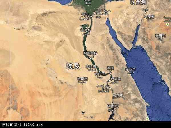 埃及卫星地图 - 埃及高清卫星地图 - 埃及高清航拍地图 - 2016年埃及高清卫星地图