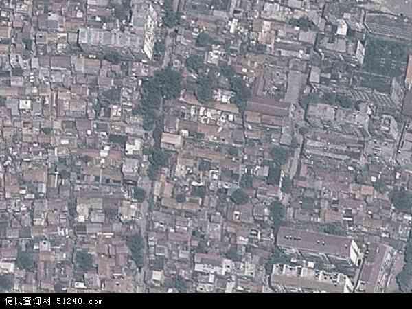 中国河南省商丘市梁园区八八地图(卫星地图)图片