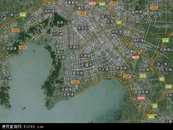 中国 江苏省 无锡市  本站收录有:2018无锡市卫星地图高清版,无锡市