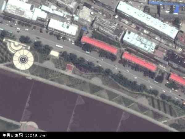 中国山西省阳泉市矿区蔡洼地图(卫星地图)