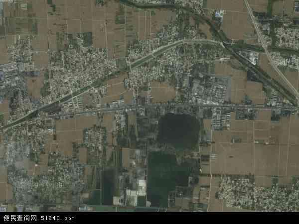 中国山东省济宁市微山县傅村地图(卫星地图)