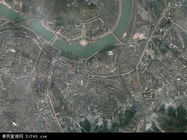 中国辽宁省本溪市明山区高峪地图(卫星地图)