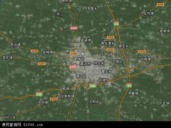 漯河市高清航拍地图 - 2019年漯河市高清卫星地图