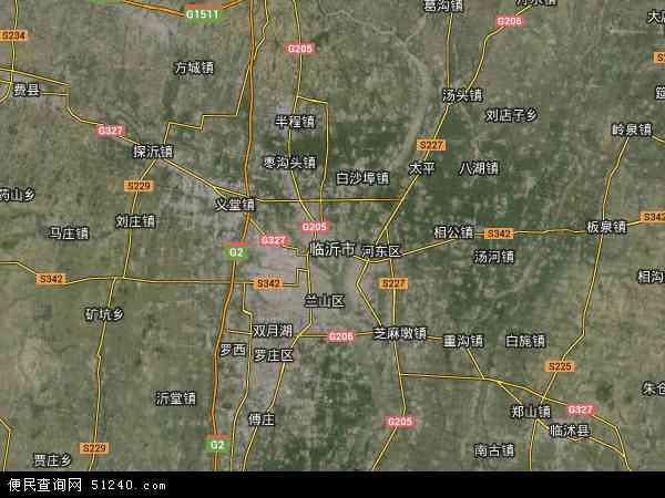 临沂市地图 临沂市卫星地图 临沂市高清航拍地图