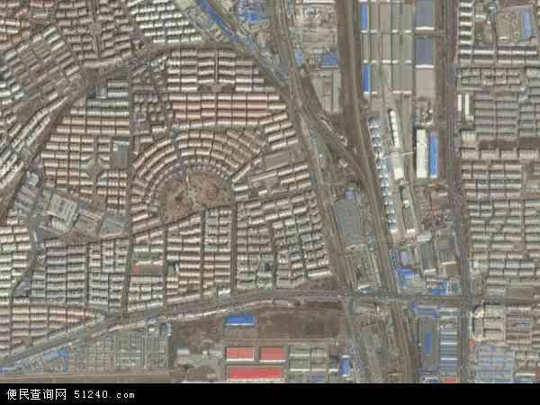 中国辽宁省大连市甘井子区泡崖地图(卫星地图)