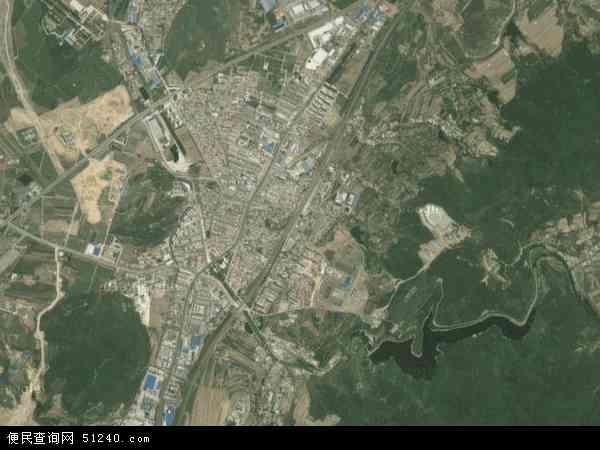 中国辽宁省大连市普兰店市石河地图(卫星地图)图片
