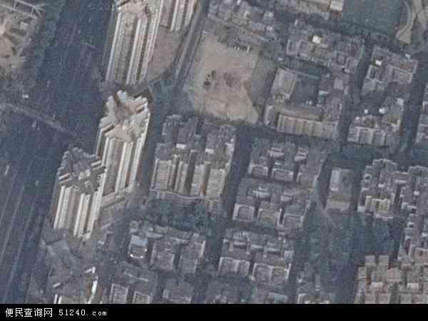 中国广东省广州市海珠区素社地图(卫星地图)