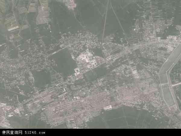 中国辽宁省朝阳市北票市台吉地图(卫星地图)