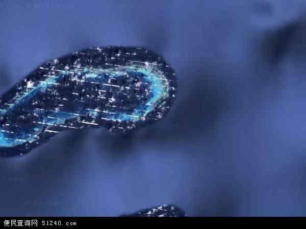 西沙群岛地图 - 西沙群岛卫星地图