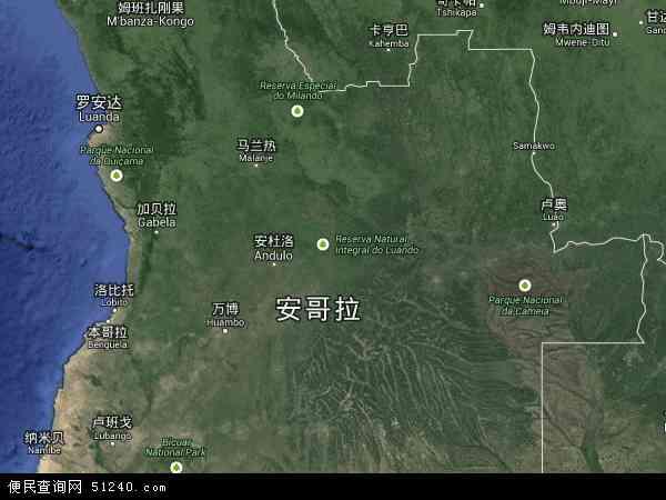 安哥拉卫星地图 - 安哥拉高清卫星地图 - 安哥拉高清航拍地图 - 2016年安哥拉高清卫星地图