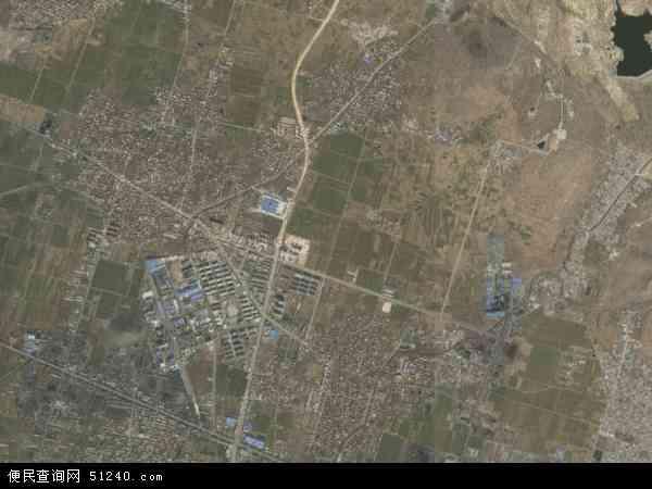 中国山东省泰安市新泰市翟镇地图(卫星地图)