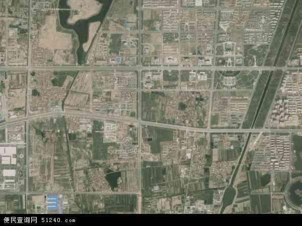 中国山东省滨州市滨城区杜店地图(卫星地图)