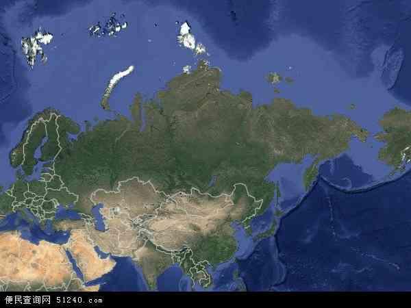 俄罗斯卫星地图 - 俄罗斯高清卫星地图 - 俄罗斯高清航拍地图 - 2017