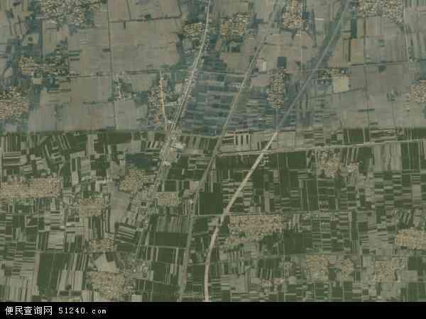 中国山东省滨州市惠民县何坊地图(卫星地图)