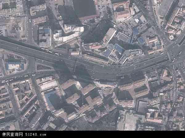 中国山东省青岛市市北区即墨路地图(卫星地图)
