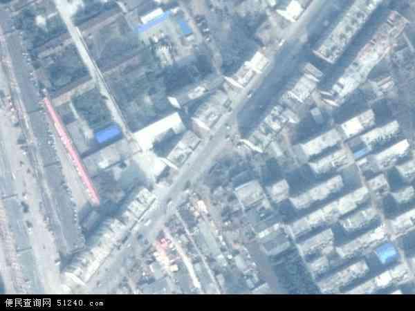 中国河南省平顶山市鲁山县露峰地图(卫星地图)