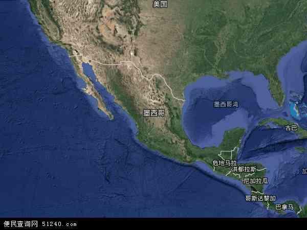 墨西哥卫星地图 - 墨西哥高清卫星地图 - 墨西哥高清航拍地图 - 2016年墨西哥高清卫星地图