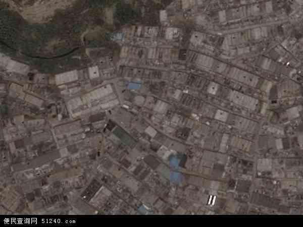 中国陕西省榆林市神木县马镇地图(卫星地图)