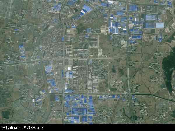 中国江苏省无锡市江阴市南闸地图(卫星地图)