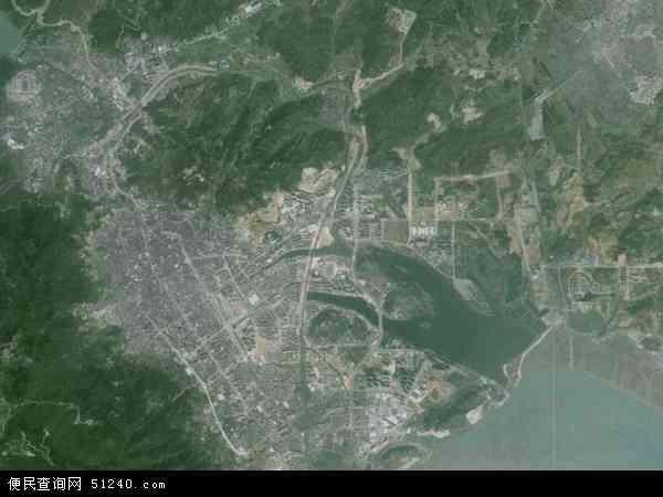 中国福建省宁德市地图(卫星地图)
