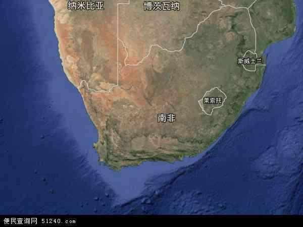 南非高清卫星地图 - 南非高清航拍地图 - 2019年南非高清卫星地图