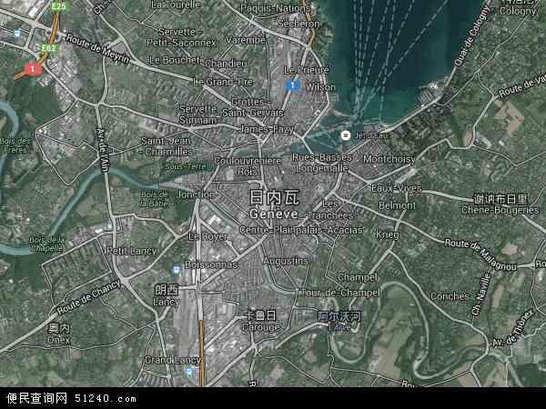 日内瓦卫星地图 - 日内瓦高清卫星地图 - 日内瓦高清航拍地图 - 2018