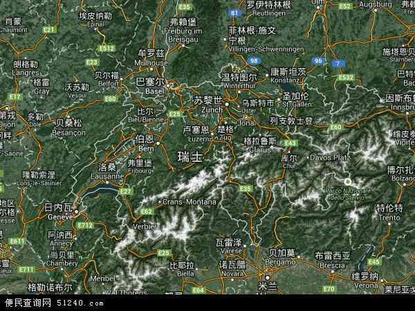 瑞士卫星地图 - 瑞士高清卫星地图 - 瑞士高清航拍地图 - 2016年瑞士高清卫星地图