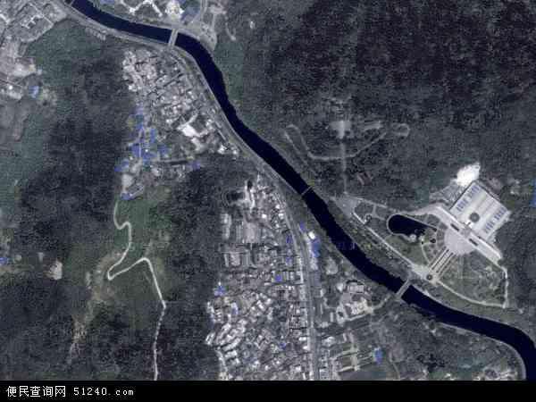 中国贵州省遵义市汇川区洗马路地图(卫星地图)