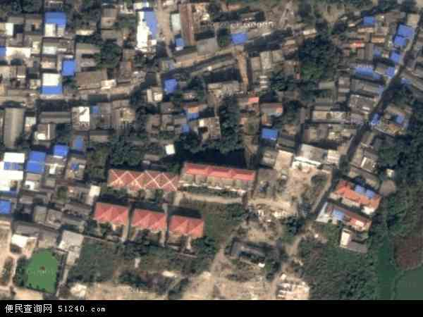 中国安徽省阜阳市颍州区颍西地图(卫星地图)