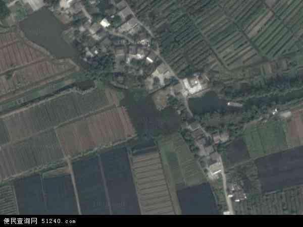 中国广东省中山市坦洲镇裕洲地图(卫星地图)