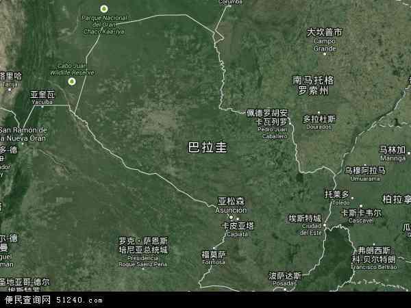 巴拉圭航拍照片,2017巴拉圭卫星地图,巴拉圭北斗卫星地图2018,部分