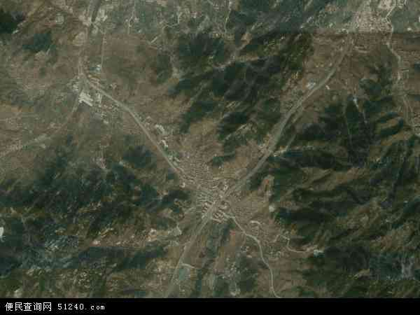 中国山东省青岛市崂山区北宅地图(卫星地图)