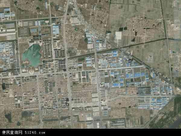 渤海路卫星影像,渤海路高清卫星航拍地图,渤海路航拍照片,2016渤海路