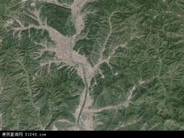 承德市地图 - 承德市卫星地图