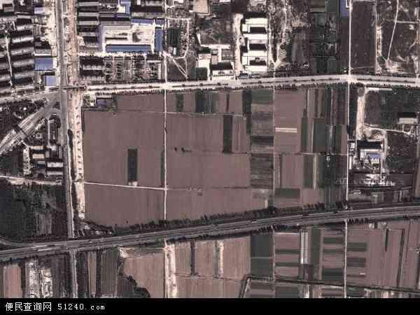 中国陕西省宝鸡市陈仓区虢镇地图(卫星地图)