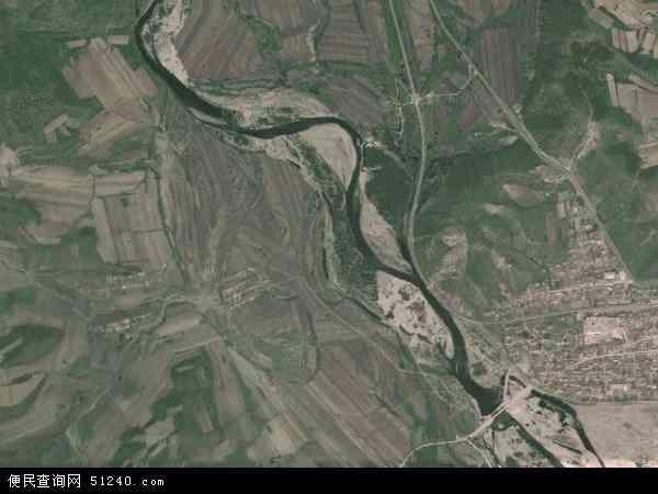 扎兰屯市地图_河西地图 - 河西卫星地图 - 河西高清航拍地图