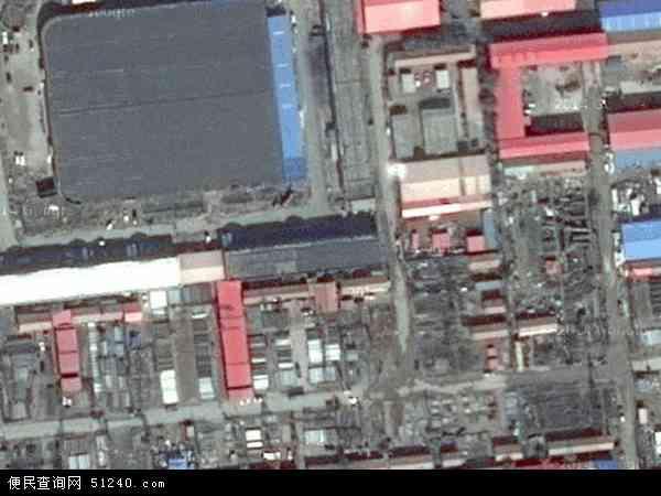 中国河北省沧州市黄骅市骅东地图(卫星地图)