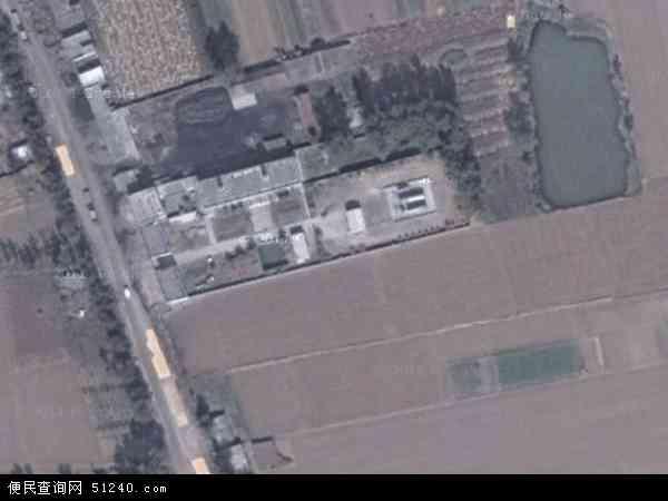 中国河南省平顶山市鲁山县汇源地图(卫星地图)
