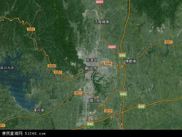 荆门市三维地图_荆门市地图 - 荆门市卫星地图 - 荆门市高清航拍地图