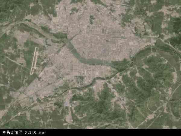 锦州市高清卫星地图