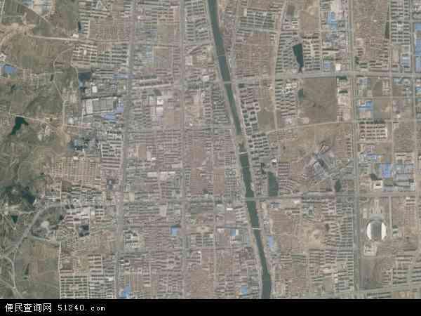 中国山东省烟台市招远市罗峰地图(卫星地图)