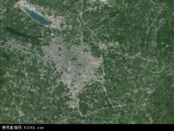 茂名市地图 - 茂名市卫星地图